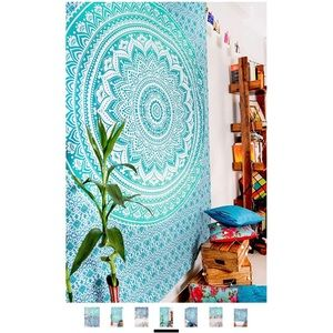 Blue and Green Tapestry